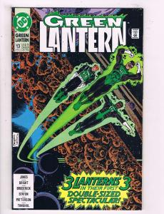 Green Lantern #13 VF DC Comics Comic Book Jones Hal Jordan Guy Gardner 1990 DE12
