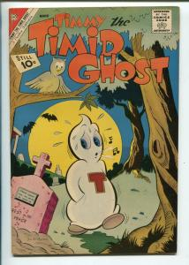 TIMMY THE TIMID GHOST #31 1962-CHARLTON-RARE ISSUE-fn/vf