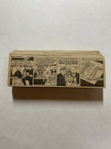 Dick Tracy Newspaper Comics Strip 1953 Daily Dailies  Complete Black And White