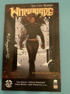 Witchblade #157 (2012) SIGNED BY TIM SEELEY