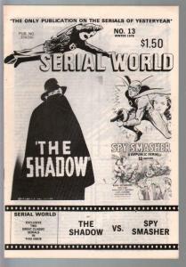 Serial World #13 1978-Shadows vs Spy Smasher-FN
