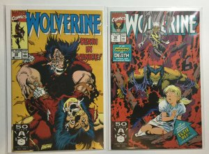 Wolverine 38 39 Nm Near Mint Marvel Comics