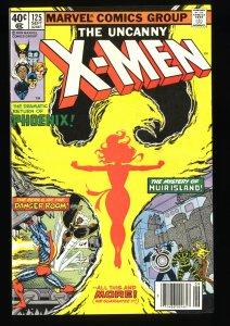 X-Men #125 VF/NM 9.0 Phoenix Jean Grey!