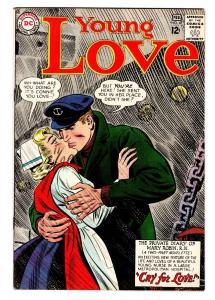 YOUNG LOVE #47 comic book DC ROMANCE-NURSE SAILOR COVER FN