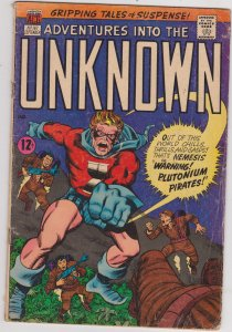 Adventures into the Unknown #167