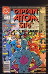 Captain Atom #24 (1988) Newsstand Edition