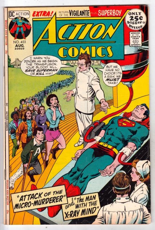 Action Comics #403 (Aug-71) NM- High-Grade Superman