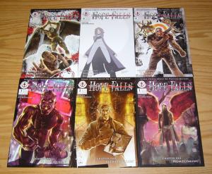 Hope Falls #1-5 VF/NM complete series + variant - fallen angel seeks revenge
