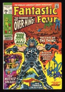Fantastic Four #113 VG/FN 5.0 Marvel Comics