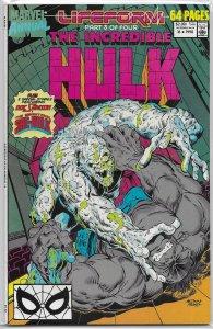 Incredible Hulk   vol. 1  Annual   #16 VG (Lifeform 3) David/Medina