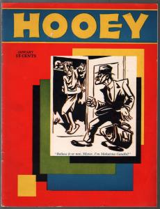 Hooey #1 1/1931-Popular-1st Issue-early parody-Soglow-Anderson-VF
