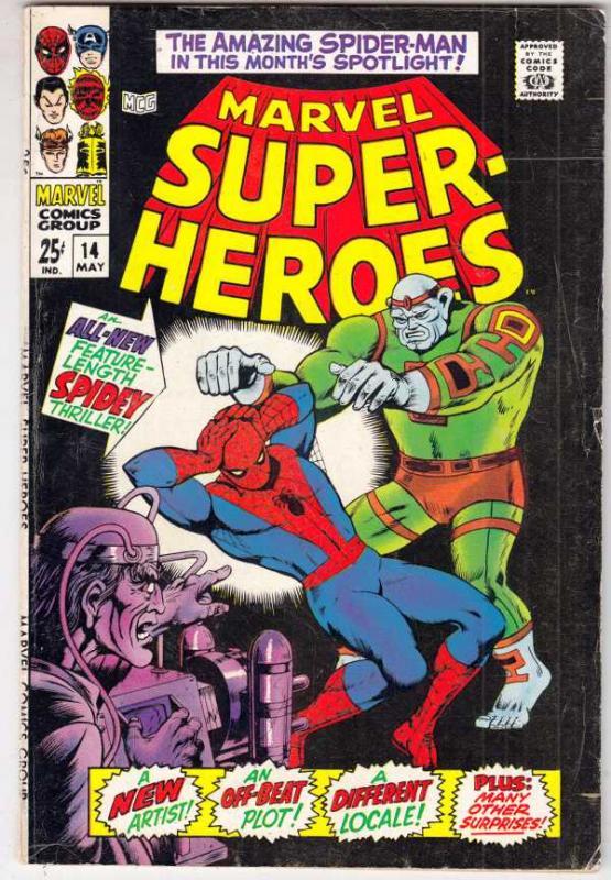 Marvel Super-Heroes #14 (May-68) FN/VF- Mid-High-Grade