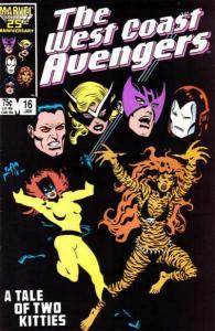 West Coast Avengers (1985 series) #16, VF (Stock photo)