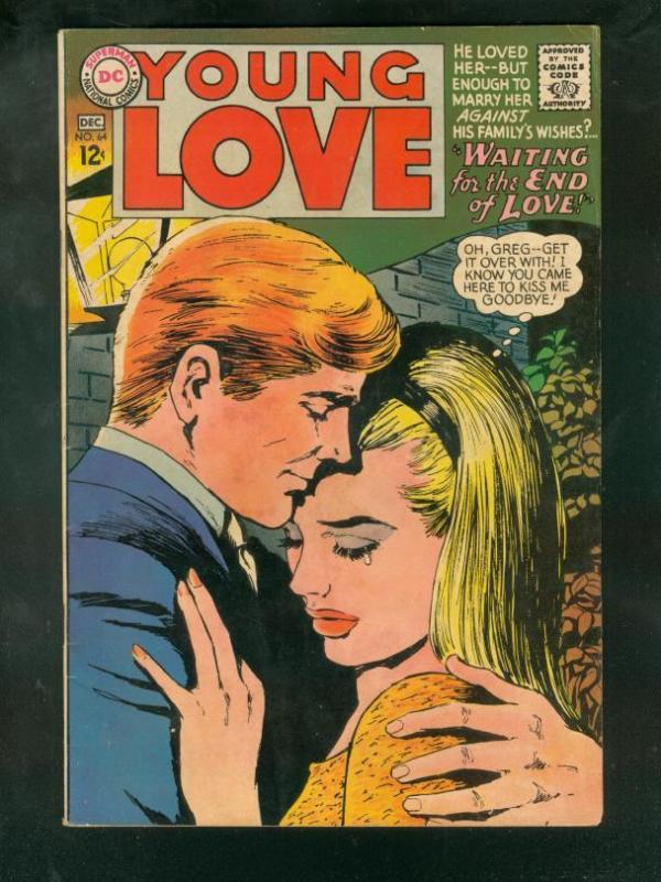 YOUNG LOVE #64 1967-DC ROMANCE- FN