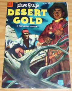 Four Color #467 VG+july 1953 - zane grey's desert gold - golden age dell comics