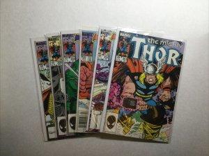 Thor 351 352 357 358 359 360 Lot Run Set Near Mint- Nm- 9.2 Marvel