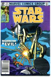 STAR WARS #51, FN/VFN, Luke Skywalker,Darth Vader, 1977, more SW in store