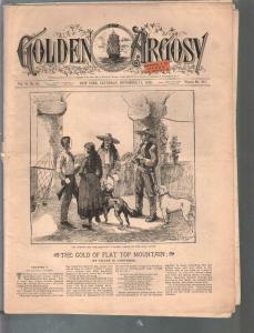 Golden Argosy #311 11/17/1888-Munsey-Argosy precursor-Frank H Converse-G/VG