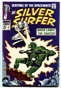 SILVER SURFER #2 comic book-1968-FIRST BADOON-marvel