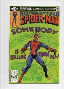 Peter Parker SPECTACULAR SPIDER-MAN #44 FN, Vengeance 1976 1980 more in store