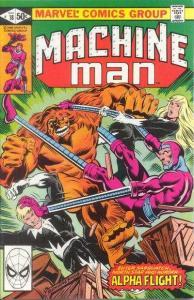 Machine Man (1978 series) #18, VG- (Stock photo)