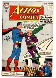 ACTION COMICS #298 comic book DC SUPERMAN 1963 LEX LUTHOR  MOONEY VG
