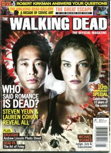 WALKING DEAD MAGAZINE #5, NM, Zombies, Horror, Kirkman, 2012, more in store
