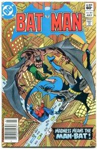 Batman #361 1983-Bronze Age-DC comics-  1st Harvey Bullock Gotham VF