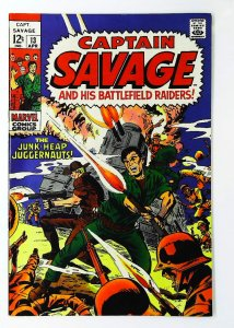 Captain Savage and His Leatherneck Raiders #13, VF+ (Actual scan)