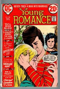YOUNG ROMANCE #188 1972-DC COMICS-VG--DAYDREAMS LIE! VG-