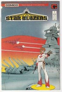 Star Blazers #1 April 1987 Comico