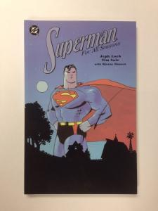 Superman For All Seasons 1st Print Near Mint Tpb Jeph Loeb Tim Sale