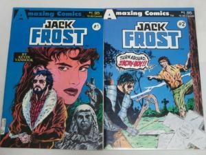 JACK FROST (1987 AZ) 1-2 Kevin van Hook THE SET!