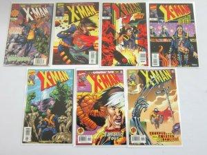 X-Man Comic Lot #50 - 74 + ANN (21 DIFF) - 9.4 NM (1999 - 2001)