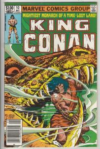 King Conan #10 (May-82) NM Super-High-Grade Conan the Barbarian
