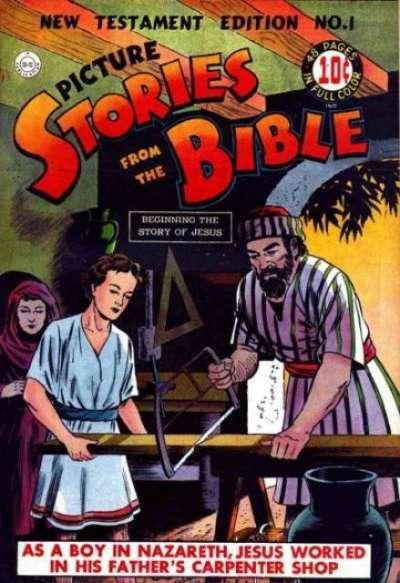 Picture Stories from the Bible: New Testament Edition #1, Good+ (Stock photo)