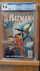 Batman # 457 Dec 1990 CGC 9.6 2nd Print Newsstand Highest Graded CGC Copy