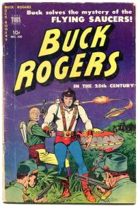 Buck Rogers In The 25th Century #100 1951- Flying Saucer cover VG