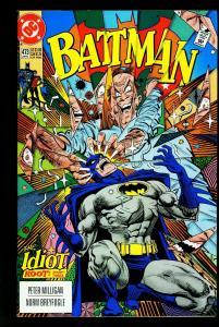 Batman #473 1992-DC Comics- 1st / Last Crosby