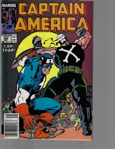 Captain America #364 (Marvel, 1989) VF+