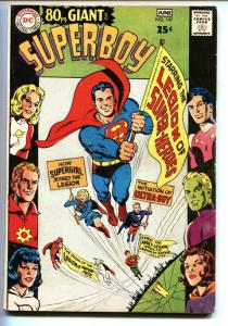 SUPERBOY #147 1967-DC-80 PAGE GIANT-Origin LEGION OF SUPER HEROES