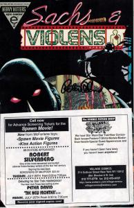 Sachs & Violens Epic Comics Heavy Hitters Signed by Peter David