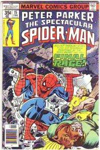 Spider-Man, Peter Parker Spectacular #15 (Feb-80) VG/FN Mid-Grade Spider-Man