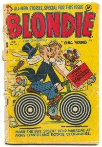 Blondie Comics #55 1953- Harvey Golden Age P