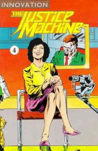 Justice Machine, The (Innovation) #4 VF/NM; Innovation | save on shipping - deta