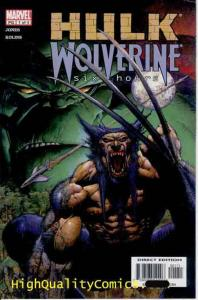 HULK vs WOLVERINE Six Hours #1 2 3 4, Bruce Jones, NM, Claws, venomous snake