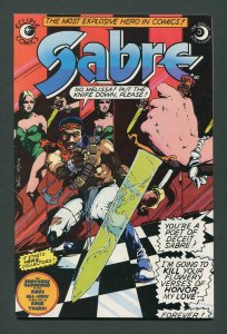 Sabre #3  / 7.0 FN/VFN  December 1982