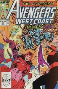 Marvel AVENGERS WEST COAST #53 VF
