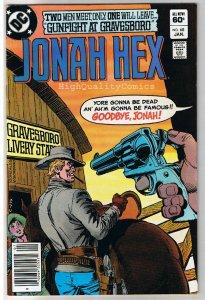 JONAH HEX #68, FN, Gunfight Gravesboro,Dick Ayers, 1977, more JH in store