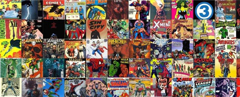 MYSTERY BOX 50 COMICS